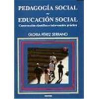PEDAGOGIA SOCIAL EDUCACION SOCIAL