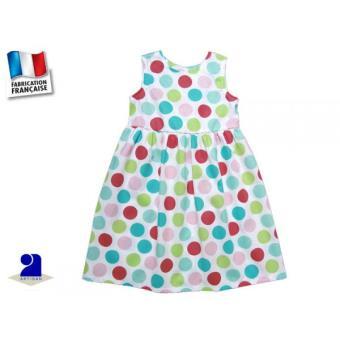 4c6874360bc15 Vêtement enfant  Robe fillette coton