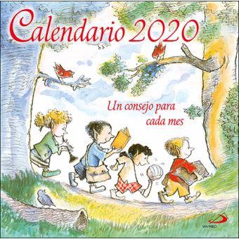 Calendario de pared San Pablo Un consejo para cada mes 2020