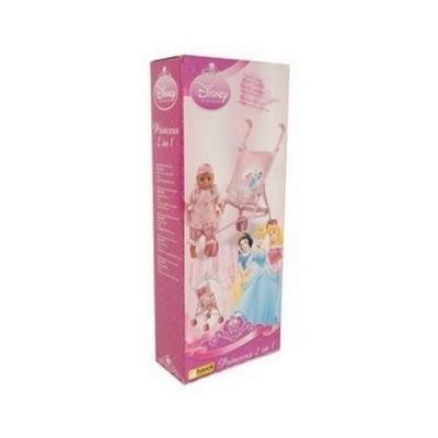 poussette canne princesse disney pour poupee ponpon bebe