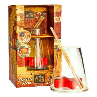Casse-tête 3d : bottle puzzle : chasse au trésor gigamic