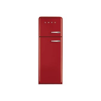 smeg 39 50 fab30lr1 r frig rateur cong lateur cong lateur haut pose libre 60 cm rouge. Black Bedroom Furniture Sets. Home Design Ideas