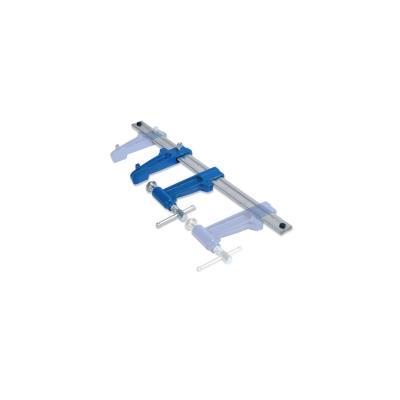 2 serre-joints à pompe UNIVERSAL 60 cm section 35 x 8 mm saillie de 120 mm