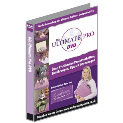 Dvd manuel d'utilisation ultimate pro (français) - crafter's companion