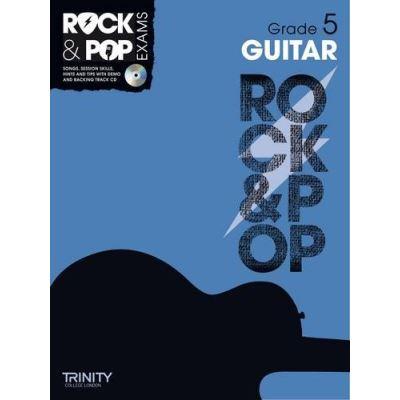 Trinity College London : Rock & Pop Grade 5 For Guitar + Cd