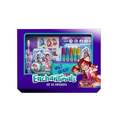 Enchantimals Set Papeterie 20 piezas