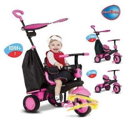Smart Trike - SmarTrike Delight - Tricycle Evolutif - Rose
