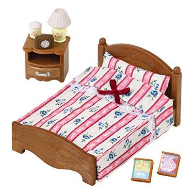 Sylvanian families - 2934 - poupées et accessoires - semi lit double - sylvanian