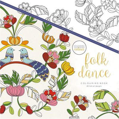 Livre de coloriage kaiser folk dance - kaiser colour