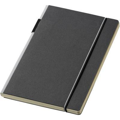 JournalBooks - Carnet Cuppia (Lot de 2) (Taille unique) (Noir/ Gris) - UTPF2551