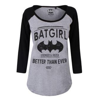 Licence Femme Batman Comics Shirt Grisamp; Sous Dc Noir Officielle Batgirl T 7mYfgvIb6y