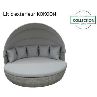 M&mhomeware - lit d\'extérieur kokoon modulable en salon de détente ...