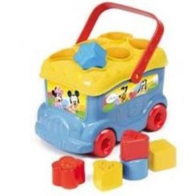 Clementoni - 14395.5 - Le Bus Des Formes De Mickey