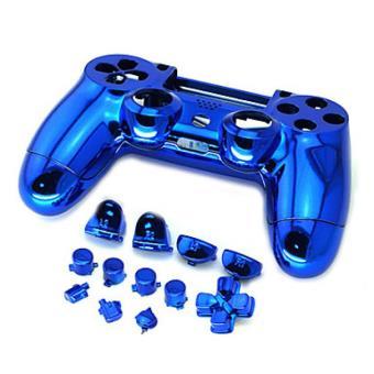 carcasse compl te pour manette ps4 bleu jeux vid o. Black Bedroom Furniture Sets. Home Design Ideas