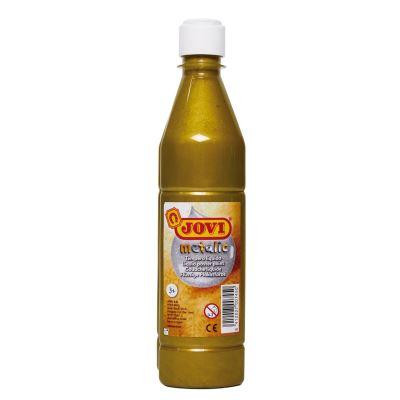Aquarelle liquide Jovi 500 ml métallique our