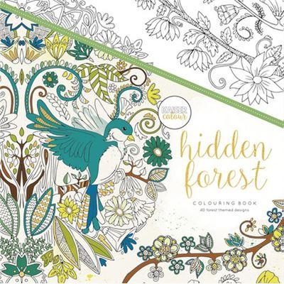 Livre de coloriage kaiser hidden forest - kaiser colour