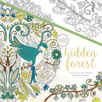 Livre de coloriage kaiser hidden forest - kaiser colour