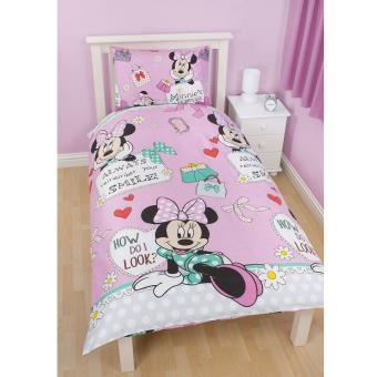 Parure De Lit Minnie Mouse Makeover Disney Parure De Lit Bebe