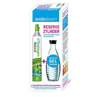 SODASTREAM RESERVE PACK CARAF (1 CYL + 1 BOTTLE)