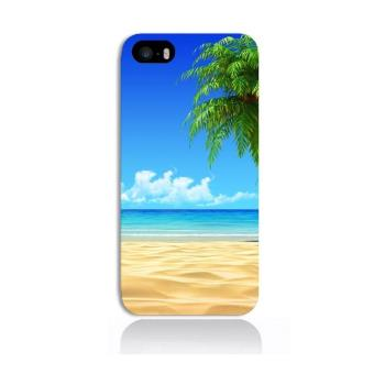 Coque iPhone 5S Plage tropicale