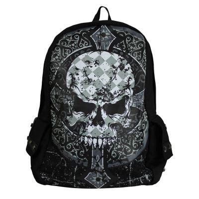 Sac à dos Banned : Crâne Gothique