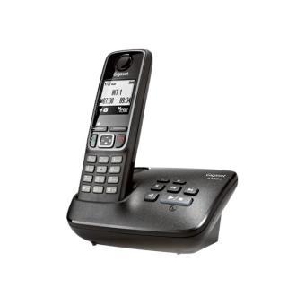 Téléphone fixe SIEMENS GIGASET A420A NOIR SOLO AVEC REPONDEUR