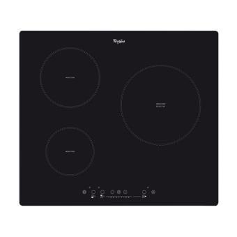 table de cuisson induction whirlpool acm555ne achat prix fnac. Black Bedroom Furniture Sets. Home Design Ideas