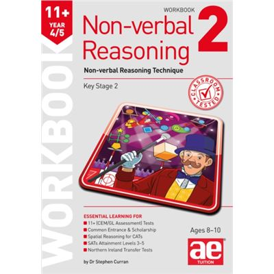 11+ Non-Verbal Reasoning Year 4/5 Workb