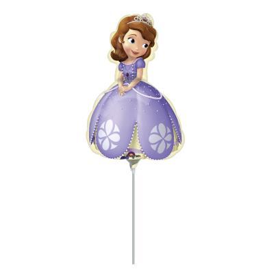Ballon mylar gonflé Princesse Sofia™™