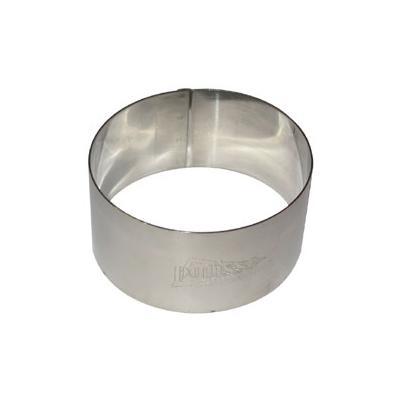 Patisse cercle a gateaux inox d.7cm h.3.5 cm