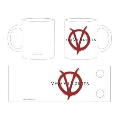 Mug - V For Vendetta - Logo