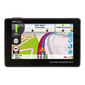 Navigation GPS TAKARA GP73 NOIR EUROPE DE L OUEST 15 PAYS