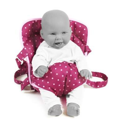 Bayer Chic 2000 782 29 Ceinture de portage pour poupées Mûres à pois