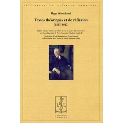 Textes Théoriques Et De Réflexion (1885-1925)