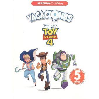 Vacaciones con toy story 4 5 años