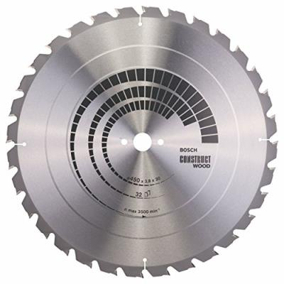 Bosch 2608640694 Lame De Scie Circulaire Construct Wood 32 Dents 450 X 30 X 3,8 Mm