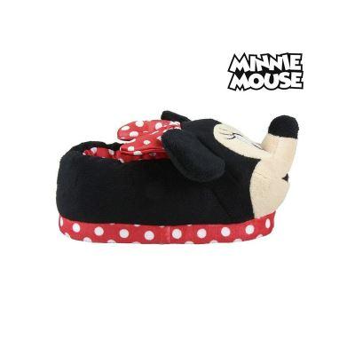 Disney Minnie Mouse Chaussons à Enfiler Flip Flop Noir Cadeau Nouveau