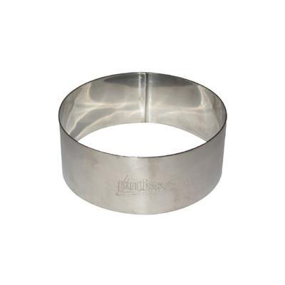 Patisse cercle a gateaux inox d.9cm h.3.5 cm