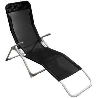 bain de soleil chaise longue transat terrasse jardin. Black Bedroom Furniture Sets. Home Design Ideas