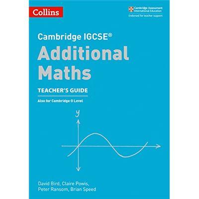 Cambridge IGCSE™ Additional Maths Teacher's Guide (Collins Cambridge IGCSE™) (Collins Cambridge IGCSE (TM)) - [Livre en VO]