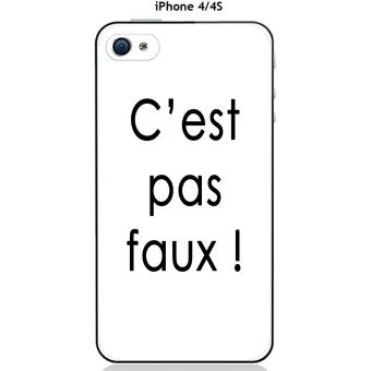 coque iphone 4 texte