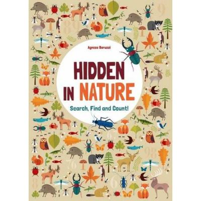 Hidden in Nature: Search, Find and Count - [Livre en VO]