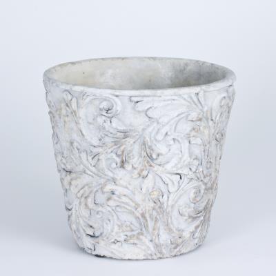 Table Passion - Cache-Pot - Vase Romance Motif Floral H19 D21