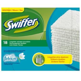 Swiffer 5410076365944 Lingette De Nettoyage De Bureau