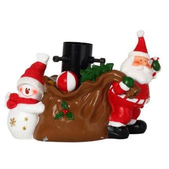 Pied de sapin de noël en résine décoration hotte cadeaux ...