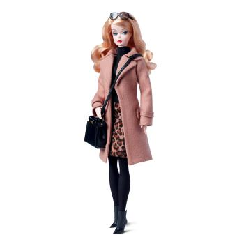 Poup E Barbie Collection Barbie Manteau L Gance Camel Mattel Achat Prix Fnac