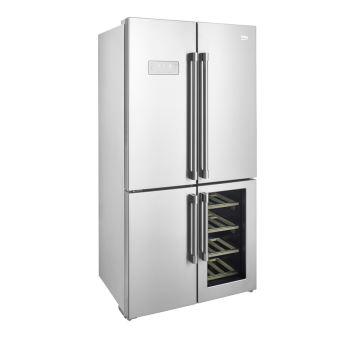 Réfrigérateur Multiportes Beko GNCX Achat Prix Fnac - Refrigerateur multi portes