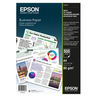 Papier d'impression Epson Papier bureautique 80g A4 500f