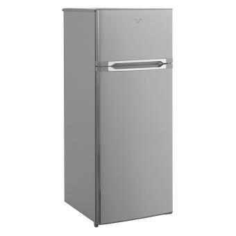 refrigerateur congelateur en haut whirlpool wte 2215x inox achat prix fnac. Black Bedroom Furniture Sets. Home Design Ideas