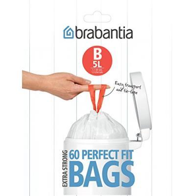 Brabantia - 348969 - Distributeur de Sacs Poubelles - Poignées Coulissantes -...